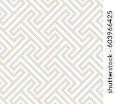 vector seamless pattern. modern ... | Shutterstock .eps vector #603966425