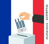 election in france concept.... | Shutterstock .eps vector #603989936