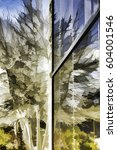 Abstract Of Trees Reflected By...