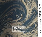 abstract marbling background.... | Shutterstock .eps vector #604007276