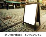 Blank Restaurant Advertising...