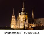 St. Vitus Cathedral And Prague...