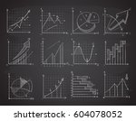 hand drawing business... | Shutterstock .eps vector #604078052