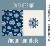 cover design for print with... | Shutterstock .eps vector #604085132