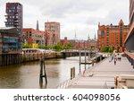street view of hamburg  germany | Shutterstock . vector #604098056