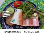 expensive lifestyle  high costs ... | Shutterstock . vector #604120136