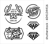 super dad emblems labels prints ...
