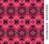 the geometric texture. boho... | Shutterstock .eps vector #604153502