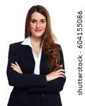 business woman | Shutterstock . vector #604155086
