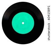 Vintage Vinyl Record Isolated...