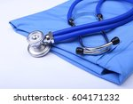 Medical Stethoscope Head Lying...