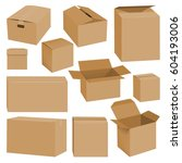 Cardboard Box Mockup Set....