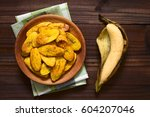 Fried Slices Of Ripe Plantains...