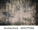cement texture with effect... | Shutterstock . vector #604279586
