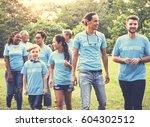 group of diversity people...   Shutterstock . vector #604302512
