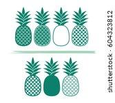 Creative Pineapples Vector...