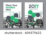green color scheme with city... | Shutterstock .eps vector #604375622