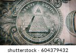 old one dollar   macro | Shutterstock . vector #604379432