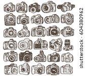 hand drawing doodle sketching... | Shutterstock .eps vector #604380962