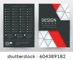 cover design vector template... | Shutterstock .eps vector #604389182