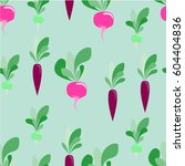 seamless pattern with... | Shutterstock .eps vector #604404836
