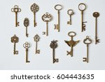 Keys Represented On Background