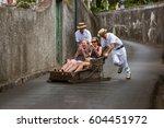 funchal  madeira   september 19 ... | Shutterstock . vector #604451972