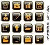 office and business icons for... | Shutterstock .eps vector #60446821