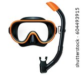 Dive Mask And Snorkel For...