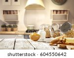 breakfast time  | Shutterstock . vector #604550642