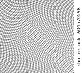 grid  mesh of circular thin... | Shutterstock .eps vector #604570598