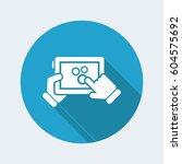 setting device | Shutterstock .eps vector #604575692
