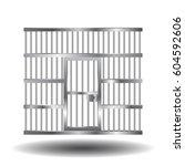 vector illustration of steel... | Shutterstock .eps vector #604592606