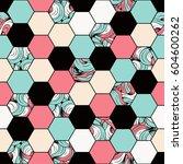 Honeycomb Seamless Pattern....