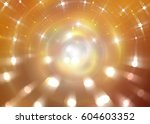abstract gold background.... | Shutterstock . vector #604603352