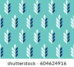 vector pattern  spikelets of... | Shutterstock .eps vector #604624916