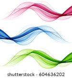 abstract color waves | Shutterstock .eps vector #604636202