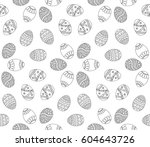 vector seamless simple pattern... | Shutterstock .eps vector #604643726
