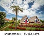 santana  madeira  portugal   22.... | Shutterstock . vector #604664396