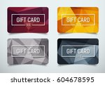 design a gift card with a frame ...   Shutterstock .eps vector #604678595