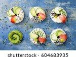 Vegan Sushi Donuts Set With...