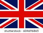 uk flag | Shutterstock .eps vector #604696865