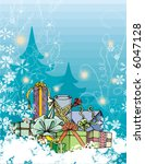 winter holiday grunge... | Shutterstock .eps vector #6047128