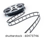 movie films spool with film | Shutterstock . vector #60473746