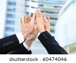 business people team at office... | Shutterstock . vector #60474046