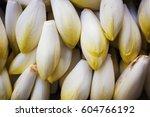 a market stall  fresh produce... | Shutterstock . vector #604766192