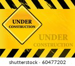 under construction vector | Shutterstock .eps vector #60477202