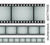 seamless standard 35mm photo or ... | Shutterstock .eps vector #604779458