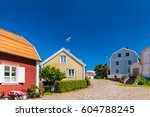 Old Swedish Houses In Summer I...