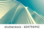 architecture 3d illustration | Shutterstock . vector #604796942